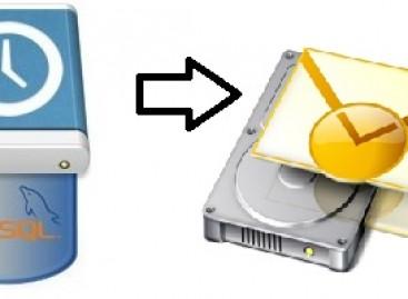 SSH Yoluyla SQL Dosyalarını MYSQL'e Import Etme