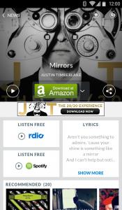 Shazam müzik arama