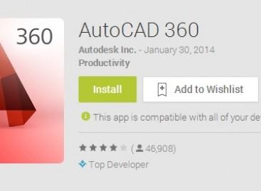 AutoCAD 360 Mobil Cihazlar İçin Mobil Uygulama Yayınladı