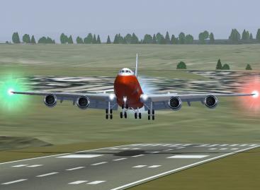 FlightGear 3.0 Sürümünden Uçak Sürüş Görselleri
