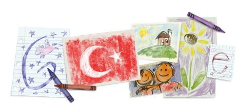 Google 23 Nisan için Doodle yayınladı