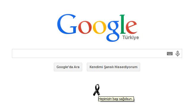 Google Soma maden faciasını unutmadı