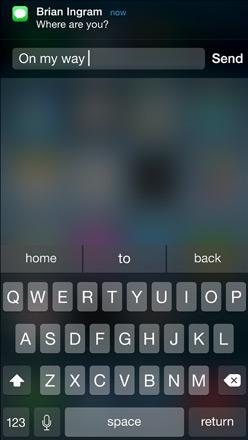 iOS 8 Mesajlaşma Özelliği