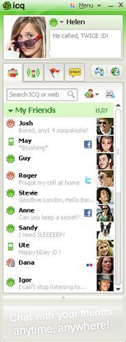 ICQFacebook