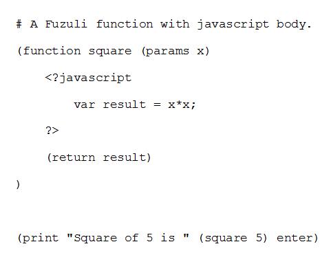 Fuzuli ile JavaScript Entegrasyonu - Değişkenler
