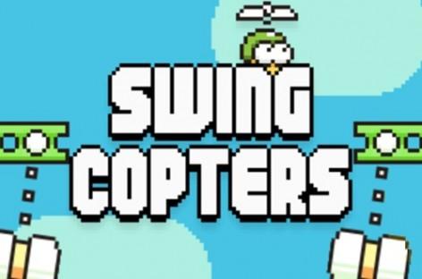 Flappy Bird Yapımcısından Yeni Mobil Oyun: Swing Copters