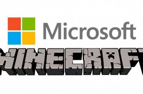 Microsoft Minecraft'ı Satın Almak Üzere