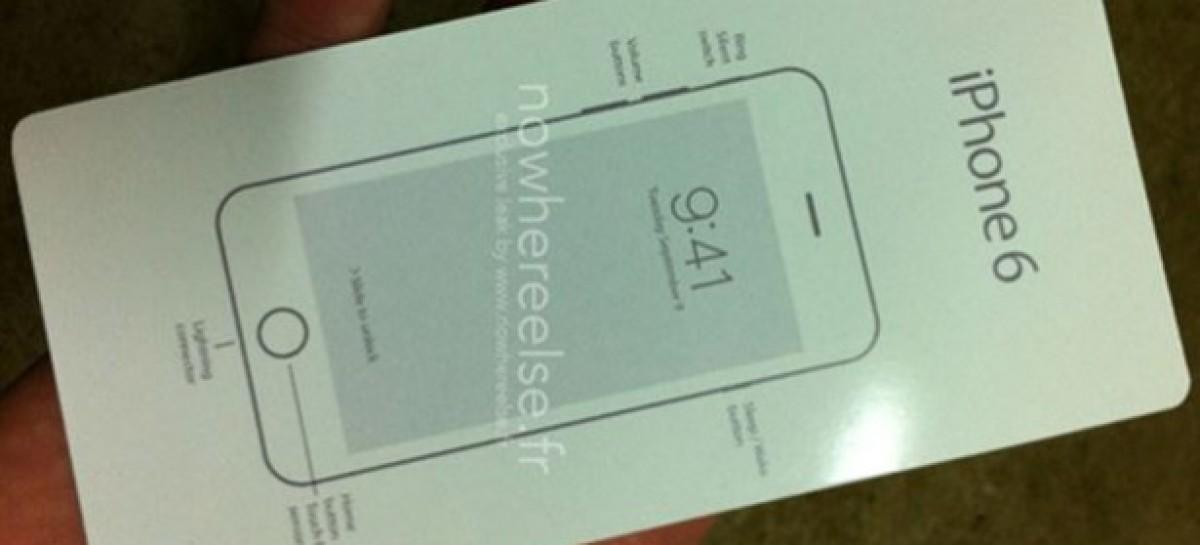 iPhone 6'nın Kutusu İnternete Sızdı