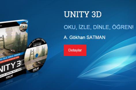 Unity3D Oyun Motoru ile Oyun Programlama Kitabı 2.Baskı'da!