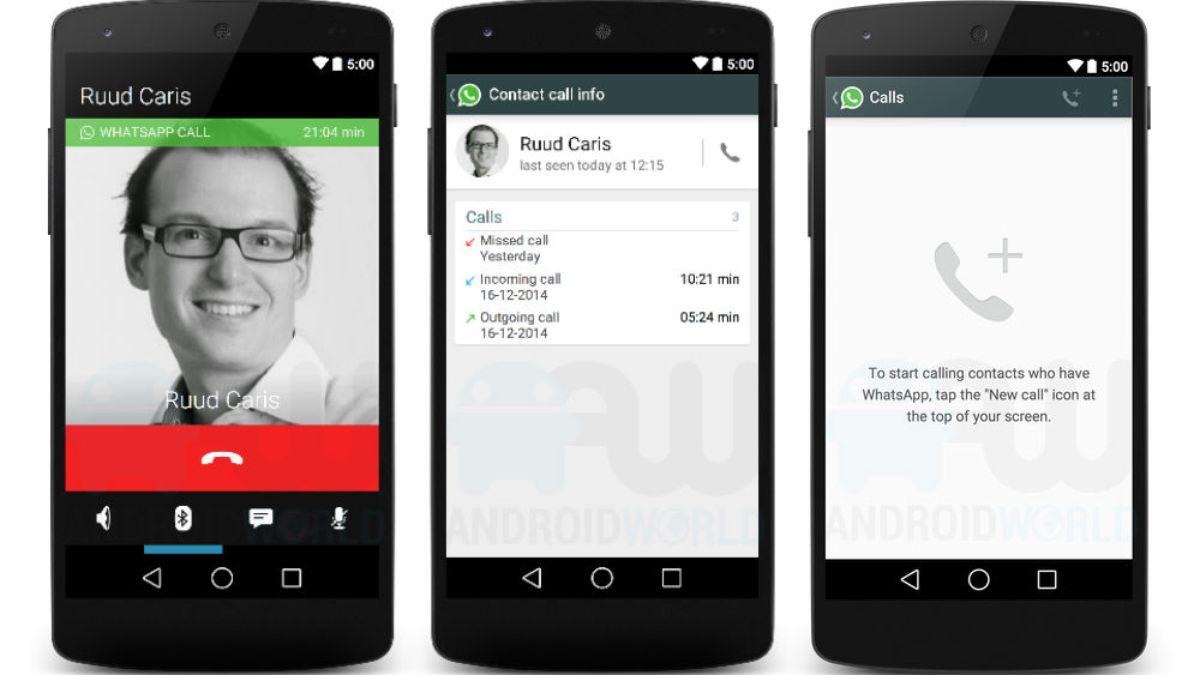 WhatsApp'a sesli arama özelliği geliyor
