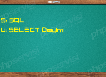 SQL Dersleri: SELECT Deyimi