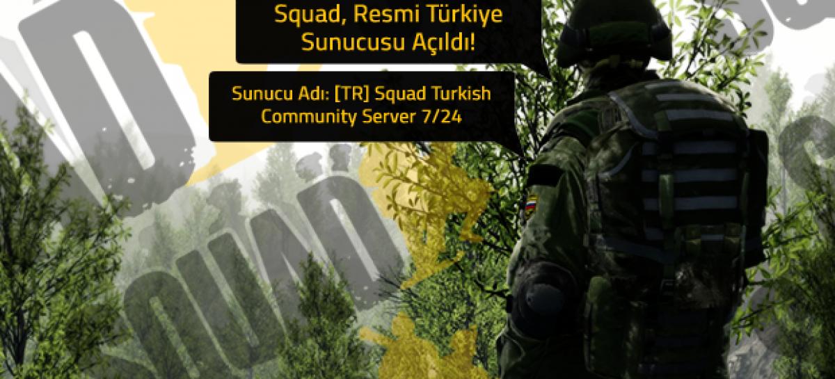 Squad Türkiye Resmi Sunucusu Açıldı
