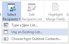 Excel - Word Entegrasyonu