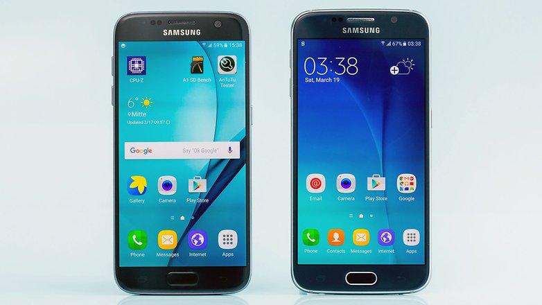 S6 ve S7 ekranları
