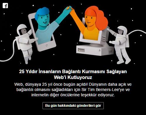 WEB, 25. Yılını Kutluyor