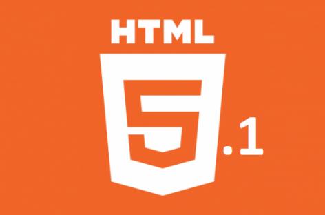 HTML 5.1 Sürümü Yayınlandı