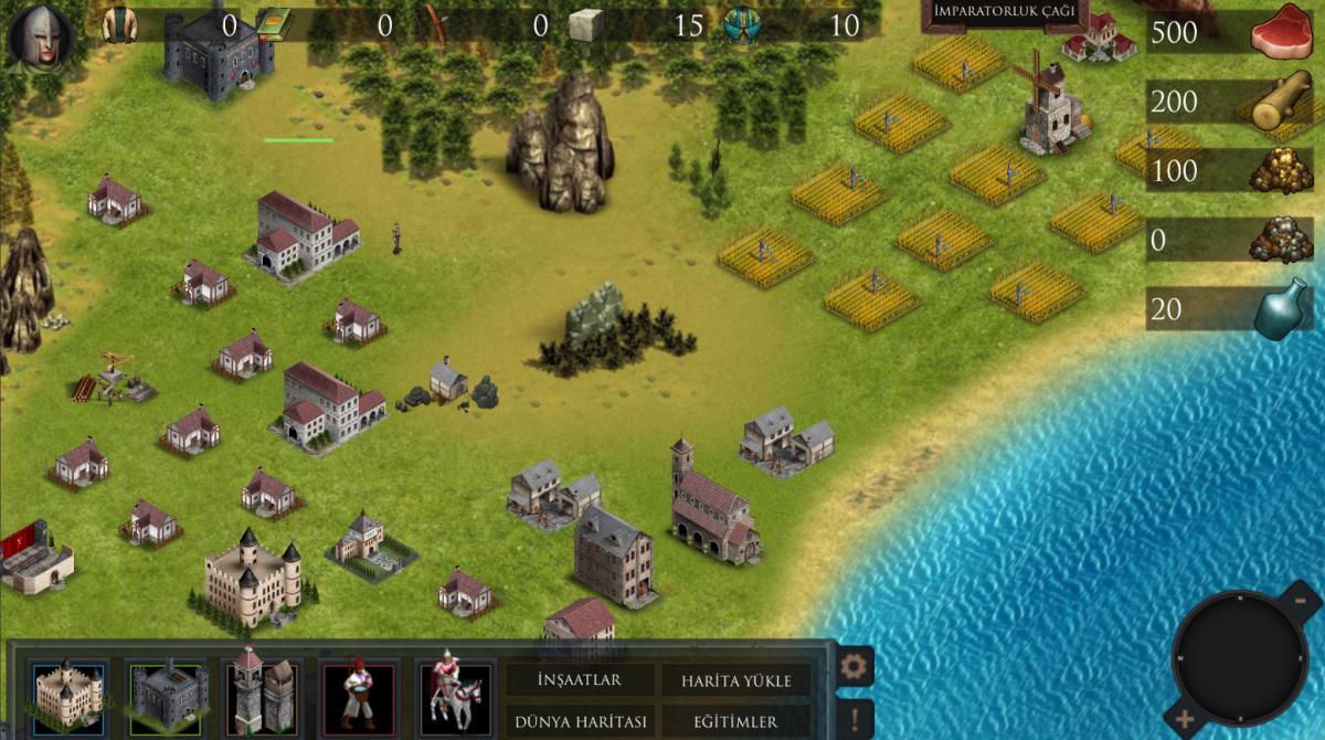Türk Yapımı Mobil Oyun Wars of Empire Çok Yakında Yayında!